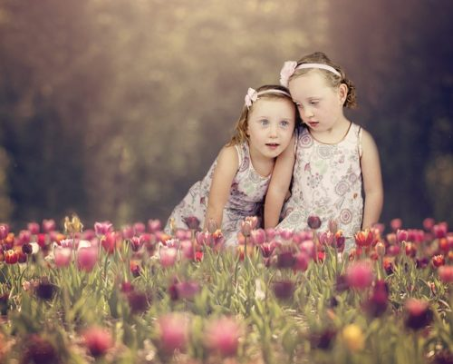 二人の女の子
