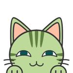 みどりのネコ